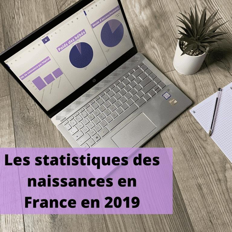 Les statistiques des naissances en France en 2019