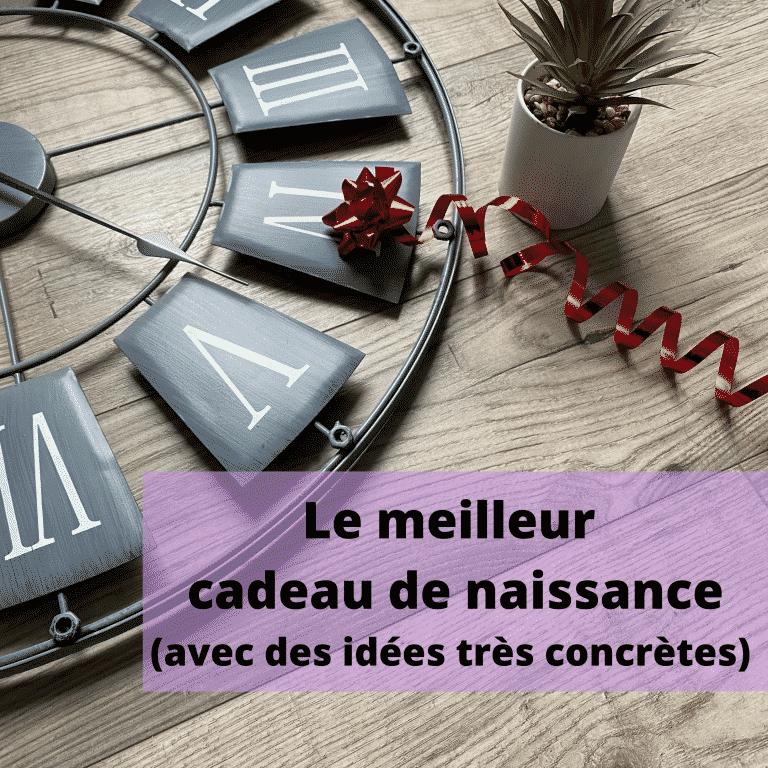 Read more about the article Le meilleur cadeau de naissance – Avec des idées très concrètes